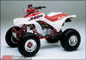 1987 Honda Trx250x Looking Back 1987 Honda Fourtrax 250x Atv