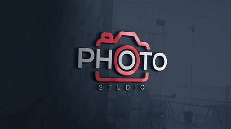 How To Easily Design A Photography Logo Photoshop Cc Tutorial Youtube Free Photography Logo Templates For Photoshop