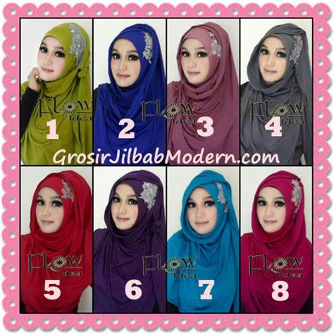 Jilbab Instant Isaura Two Tone Jersey Instan jilbab syria instant modern trendy dealova by flow idea series
