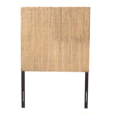 grass headboard padma s plantation grass weave headboard gwhb01 at