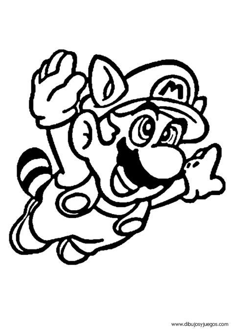 imagenes para colorear videojuegos dibujos mario bross 010 dibujos y juegos para pintar y