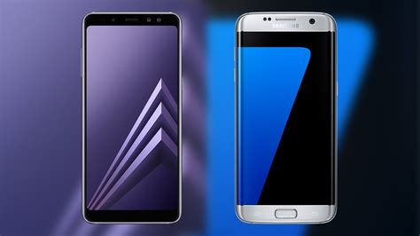 V Samsung S7 Edge Samsung Galaxy A8 2018 Vs Galaxy S7 Edge Comparison