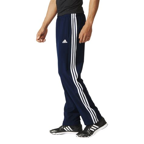 Home Adidas Adidas Mens Essentials 3 Stripes Woven Workout | adidas mens essentials 3 stripes woven pant in long