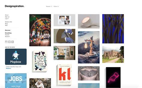 top design inspiration sites 10 top creative websites to find design inspiration