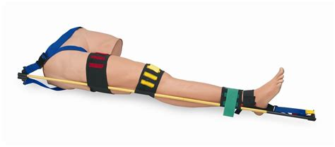 Traction Splint Trainer 031 traction splint trainer made in usa by simulaids