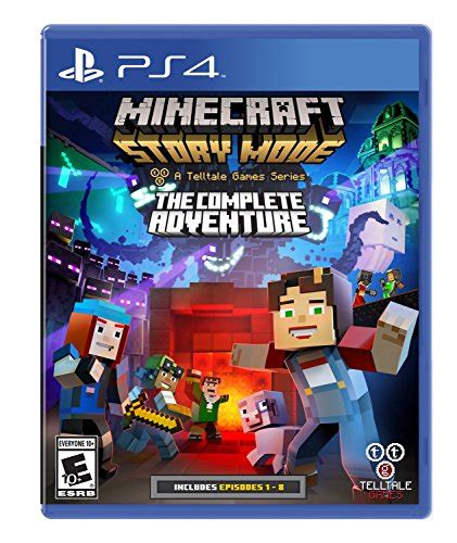 how to buy full version of minecraft ps4 minecraft story mode the complete adventure building