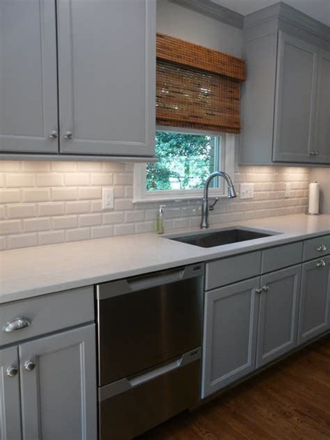 Dove Grey Kitchen Cabinets Dove Gray Kitchen Lovette Construction Transitional Kitchen Birmingham By Creative Cabinets