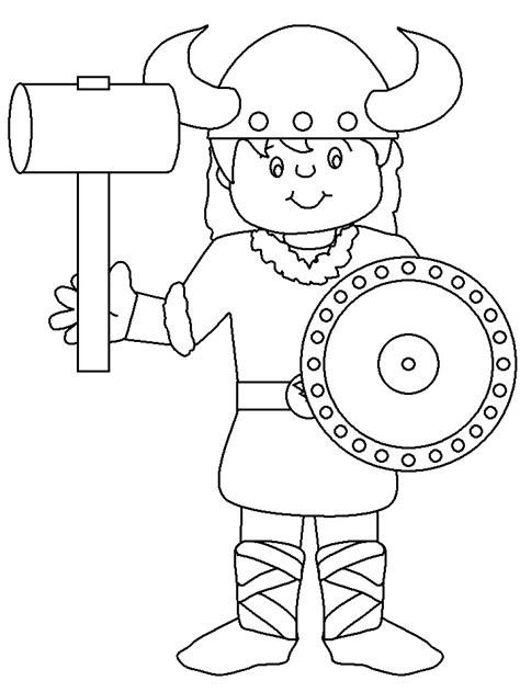 printable coloring pages vikings viking coloring page coloring home