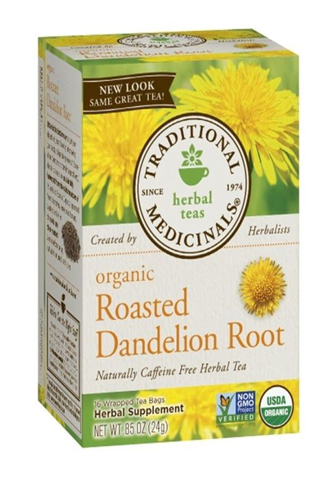 What Herb Detoxs The From X Rays by Organic Roasted Dandelion Root Herbal Tea Detox Tnvitamins