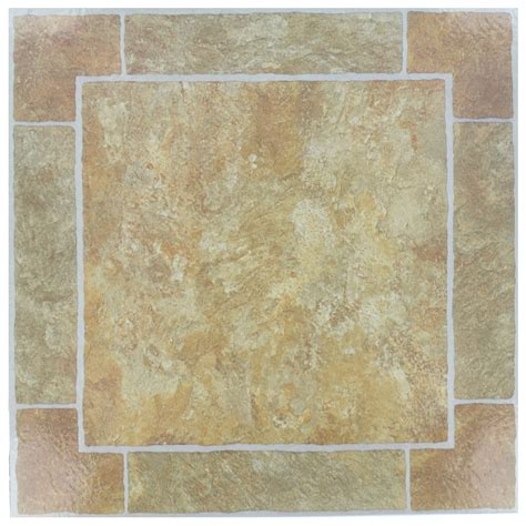 Sticky Tiles For Kitchen Floor by 7x Self Adhesive Peel And Stick Tiles Lino Flooring