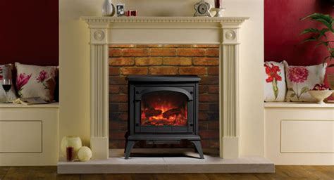 Electric Wood Burner With Surround Surround Yourself In Style With Stovax Surrounds