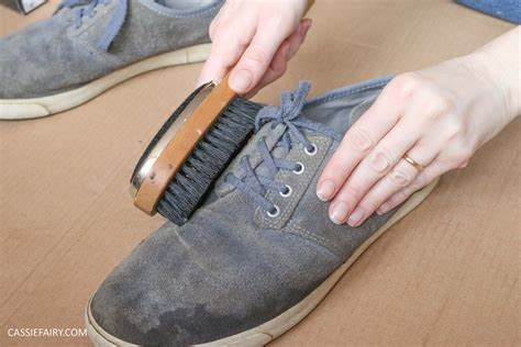 diy suede shoes lifestyle cassiefairy my thrifty