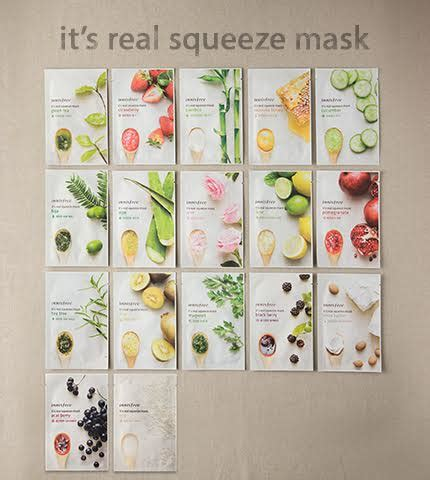 Limited Innisfree Its Real Squeeze Mask Original Varian Bamboo soompi x innisfree special sheet mask deal for soompiers soompi