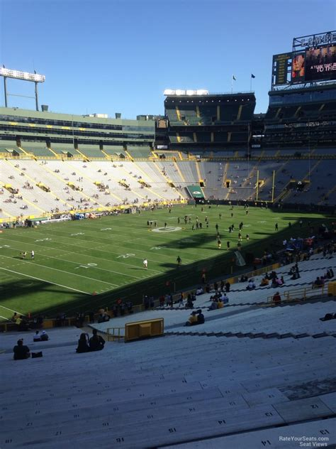 Lambeau Field Section 108 Rateyourseats Com
