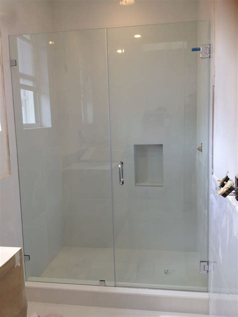 how to install frameless glass shower doors frameless shower glass doors