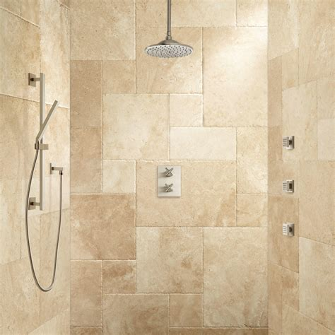 Deniau Thermostatic Shower System Hand Shower And 3 Jets Jet Showers Bathroom