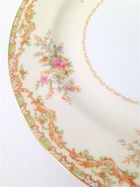 vintage china patterns vintage noritake china nanarosa pattern dessert by