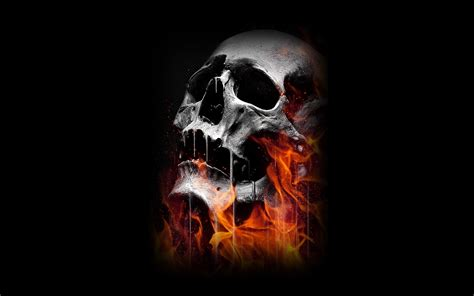 Evil Skull skull evil horror skulls artwork skeleton d