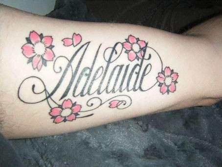 nomi di fiori femminili scritte tatuaggi frasi in corsivo da copiare foto
