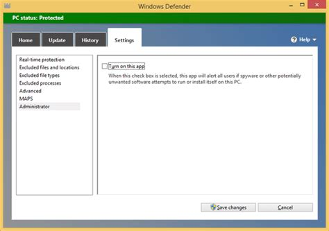 resetting windows defender disable windows defender password recovery