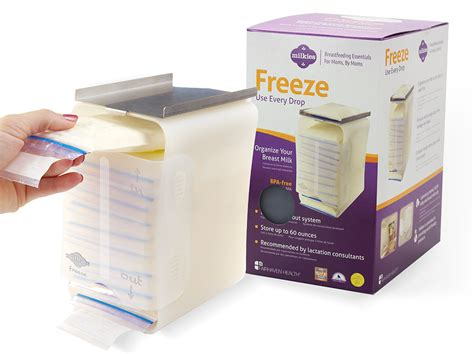breastmilk storage containers for freezer freeze breast milk flat with milkies breast milk freezer