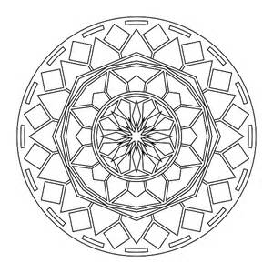 Free Printable Mandala Coloring Page Kids sketch template
