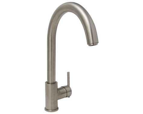 Mr Faucet Plumbing by 711 Bn Brushed Nickel Single Handle Kitchen Faucet