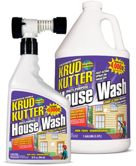 house wash mix pressure washing basics cleaning with quot house wash quot from krud kutter