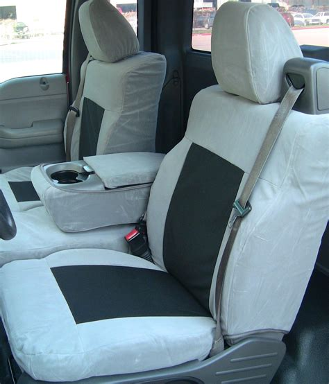 2005 ford f150 front seat covers 2004 2008 ford f150 xlt cab front 40 20 40 split