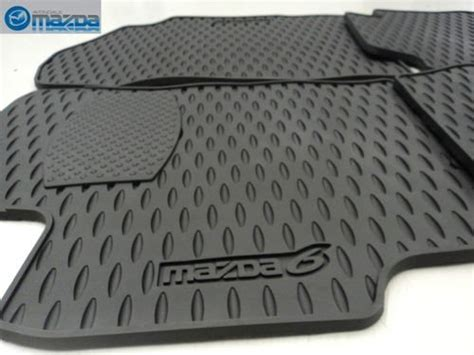 Mazda 6 All Weather Floor Mats by Top Products Reviews Mazda 6 2003 2008 New Oem Set Of Four