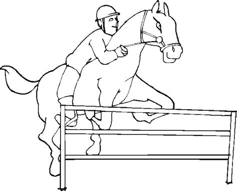 coloring pages of horses jumping jumping coloring pictures