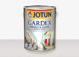 Jotun Gardex Gloss gardex premium gloss wood metal products jotun