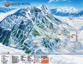 Crested Butte Colorado Map by Arapahoe Basin Trail Map Galleryhip Com The Hippest