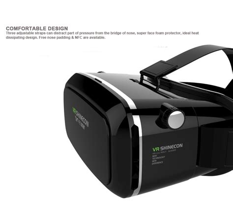Vr Box Shinecon vr box shinecon version 3d reality vr glasses headset smart phone 3d theater for