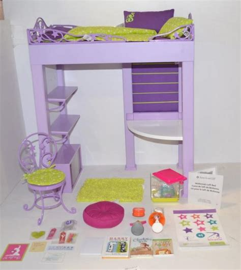 american girl doll mckenna bed american girl mckenna s loft bed doll accessory kit ebay