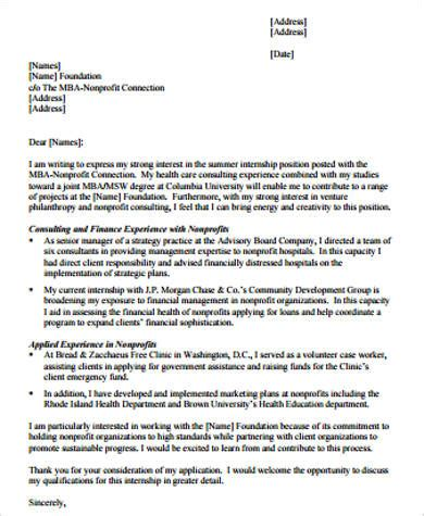 cover letter columbia sle consulting cover letter 8 exles in word pdf
