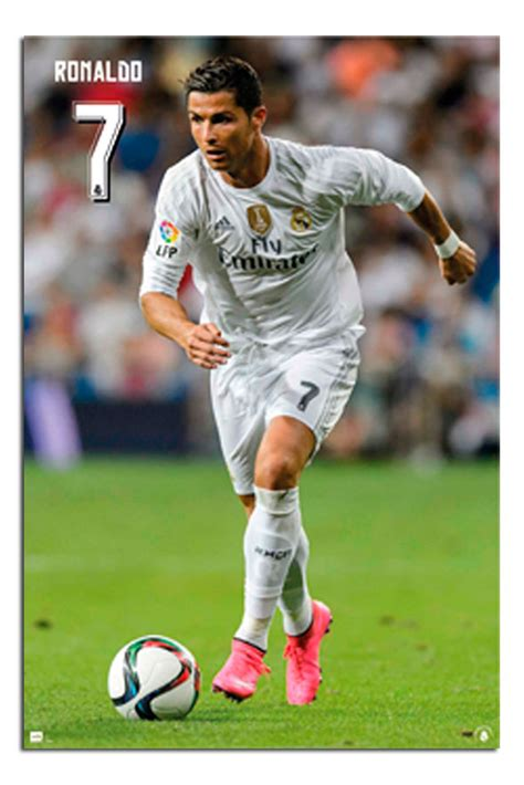 Sale Real Pict Tassa Maxi real madrid cristiano ronaldo 2015 2016 poster new