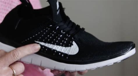 sneaker christmas present ruined  fake flyknits sole