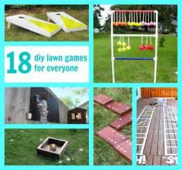 18 diy backyard lawn games that everyone can enjoy