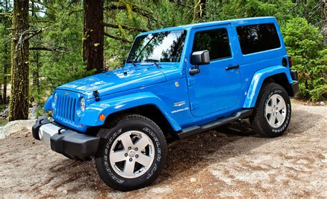 2012 Used Jeep Wrangler Car And Driver