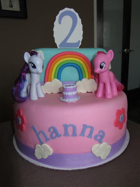 the sweet my pony 2nd birthday cake