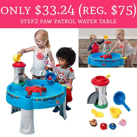 step2 paw patrol water table only 33 24 regular 75 step2 paw patrol water table