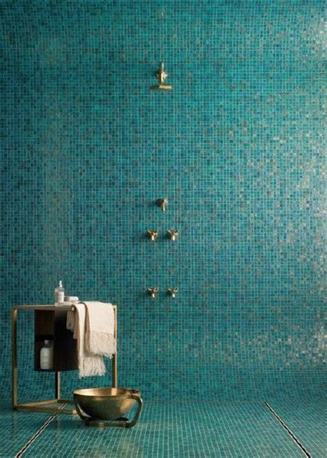 aqua glass tile bathrooms mixed pacific blue glimmer glass tile pinterest glass