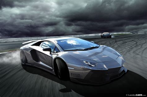 Render: Lamborghini Aventador LB R by LB Performance