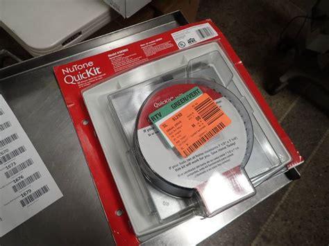 nutone bath fan upgrade kit nutone quickit upgrade bath fan upgrade kit model qkn60s