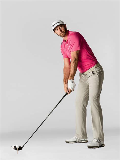 bowed left wrist golf swing dustin johnson power precision australian golf digest