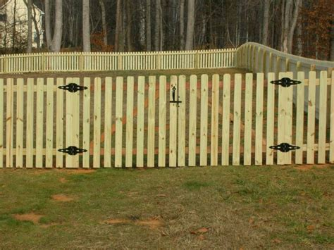 how to repair a picket fence gate home ideas collection