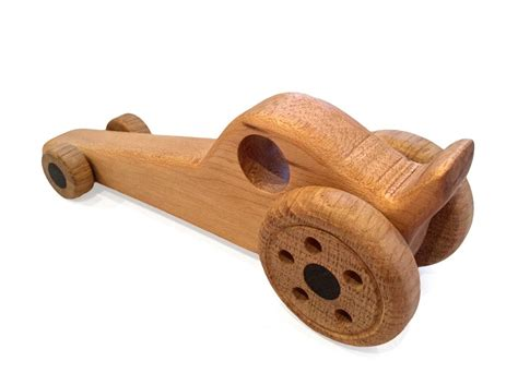 Wooden Handmade - toft workshop dragster handmade wooden gift