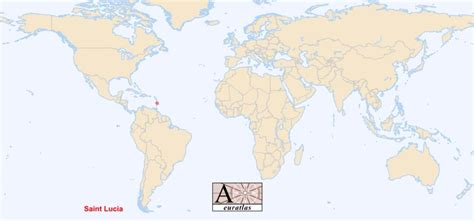 lucia location on world map world atlas the sovereign states of the world