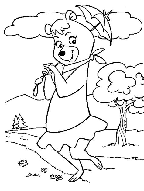 coloring pages yogi bear yogi bear coloring pages for kids coloringpagesabc com